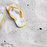 サンゴの砂がキレイ